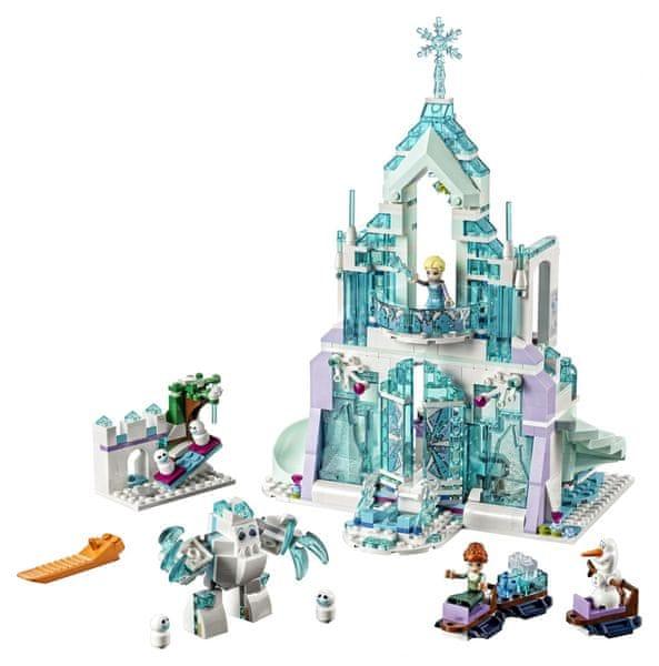 LEGO Disney Princezny 41148 Elsa a její kouzelný ledový palác
