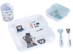 Babymoov Melaminová jídelní sada Lovely Bear