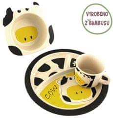 Yookidoo Pure Kids Sada nádobí - Kravička