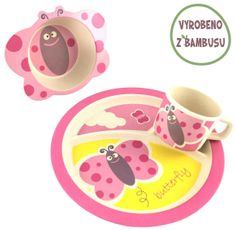 Yookidoo Pure Kids Sada nádobí - Motýlek
