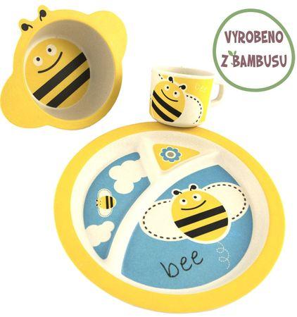 Yookidoo Pure Kids Sada nádobí - Včelka