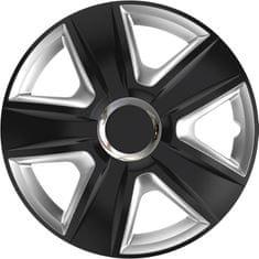 Versaco Poklice ESPIRIT RC Black/Silver sada 4ks