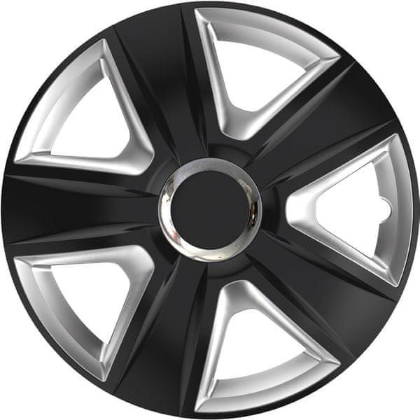 Versaco Poklice ESPIRIT RC Black/Silver sada 4ks 16