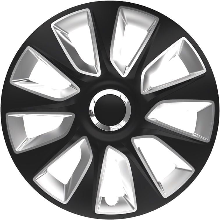 Versaco Poklice STRATOS RC Black/Silver sada 4ks 16