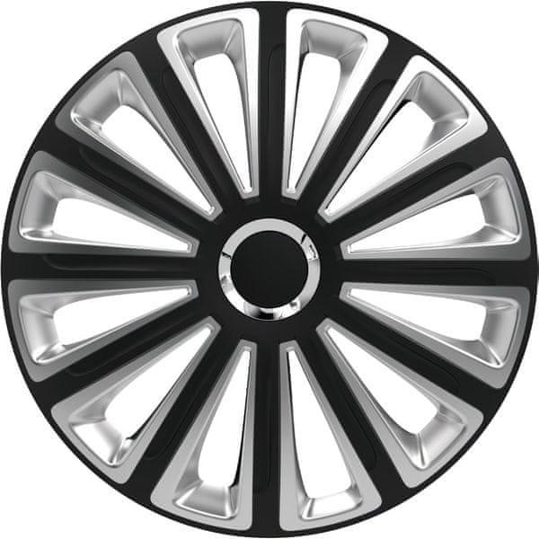 Versaco Poklice TREND RC Black/Silver sada 4ks 16