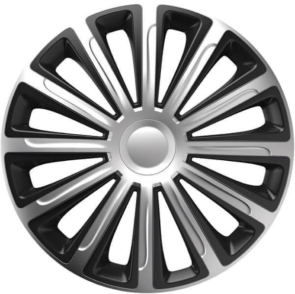 Versaco Poklice TREND Silver/Black sada 4ks 16