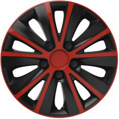 Versaco Poklice RAPIDE Red/Black sada 4ks