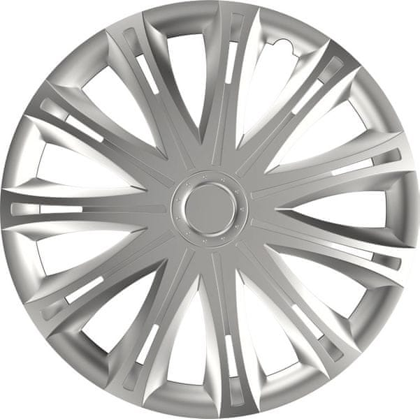 Versaco Poklice SPARK Silver sada 4ks 16