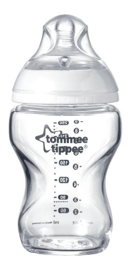 Tommee Tippee Butelka dla niemowląt C2N 250ml szklana, 0m+