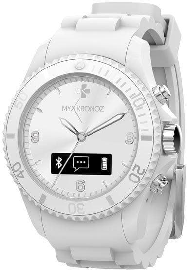 MyKronoz chytré hodinky ZeClock, bílé