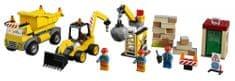 LEGO Juniors 10734 Rušenje na gradbišču