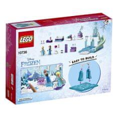 LEGO® Juniors 10736 Anino i Elsino ledeno igralište