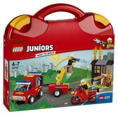 LEGO® Juniors 10740 Kovčeg s vatrogasnom postajom