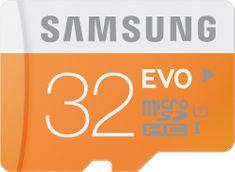 Samsung microSDHC 32GB EVO UHS-I (class 10) 48 MB/s + adaptér (MB-MP32DA/EU)