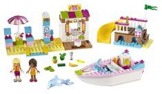 LEGO® Juniors 10747 Andrea a Stephanie na dovolenke na pláži