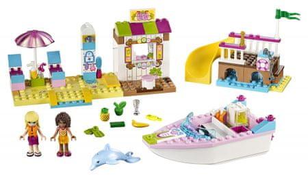 LEGO Juniors 10747 Andrejine in Stephaniejine počitnice na plaži