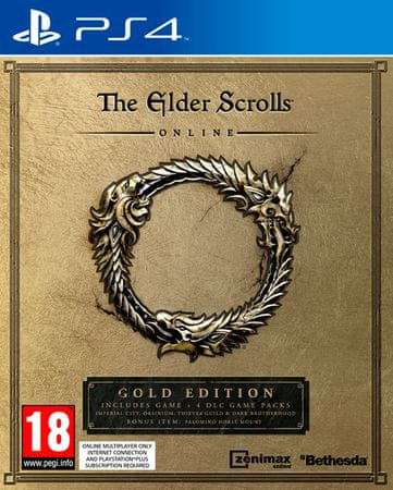 Bethesda Softworks The Elder Scrolls Online: Gold Edition (PS4)