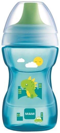 MAM Learn to Drink Cup - hrnek na učení 8+m, modrá