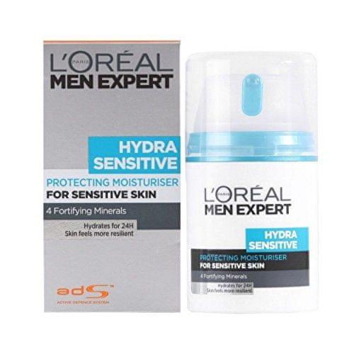 L'Oréal Pánský hydratační krém pro citlivou pleť Men Expert (Hydra Sensitive Protecting Moisturiser) 50 ml