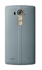 LG CPR-110 kožený zadní kryt Blue pro H815 G4 (EU Blister)
