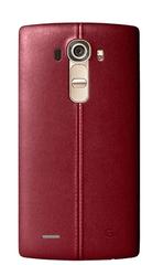 LG CPR-110 kožený zadní kryt Ferrari Red pro H815 G4 (EU Blister)