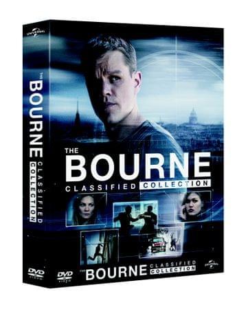 Kolekce Bourne (5 DVD + DVD bonus disk), Digibook   - DVD