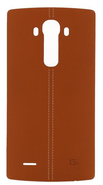 LG CPR-110 kožený zadní kryt Brown pro H815 G4 (EU Blister)