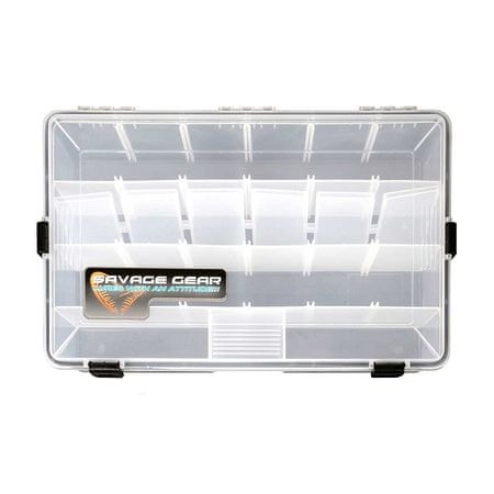 Savage Gear Krabička Waterproof boxes 35,5x23x5 cm