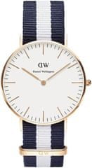 Daniel Wellington Classic Glasgow Rose Gold DW00100031