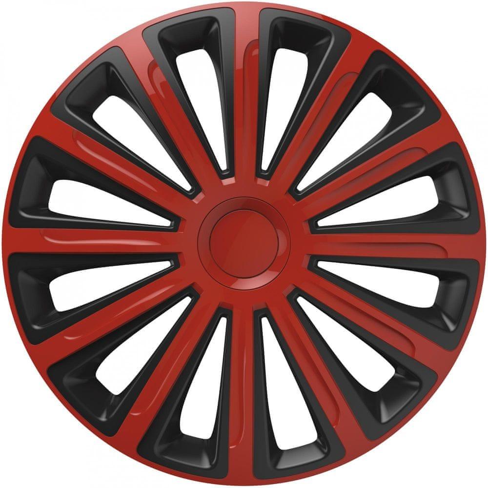 Versaco Poklice TREND Red/Black sada 4ks 14