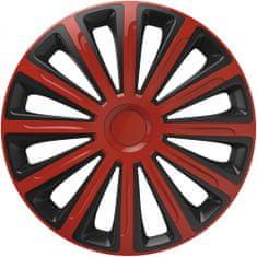 Versaco Poklice TREND Red/Black sada 4ks
