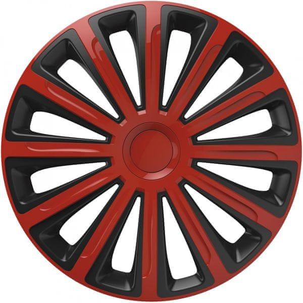 Versaco Poklice TREND Red/Black sada 4ks 16