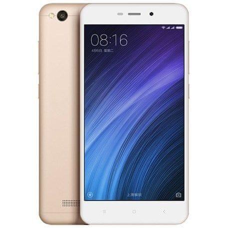 Xiaomi Redmi 4A, 2GB/32GB, CZ LTE, Dual SIM, zlatý
