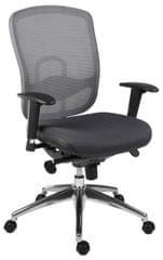Kancelářská židle Oklahoma šedo-černá
