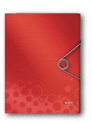 Organizér - desky BEBOP červený