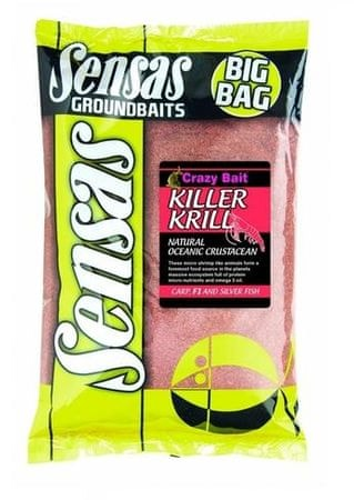 Sensas Krmivo Big Bag 2kg Krill