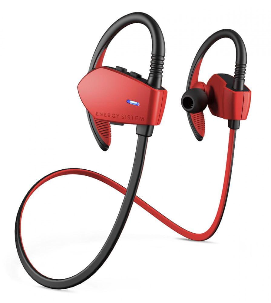 Energy Sistem Sport 1 Bluetooth bezdrátová sluchátka, červená