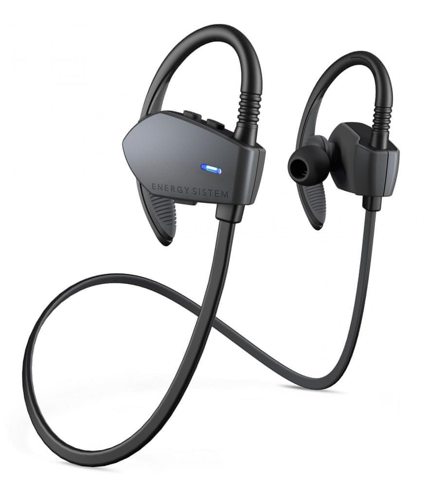 Energy Sistem Sport 1 Bluetooth bezdrátová sluchátka, šedá