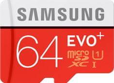 Samsung MicroSDXC 64GB EVO+ Class10 80MB/s