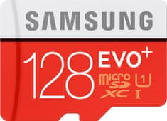 Samsung micro SDXC 128GB EVO Plus + SD adaptér (MB-MC128GA/EU)