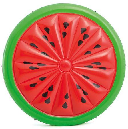 Intex okrogla napihljiva blazina Lubenica (56283), 183 cm
