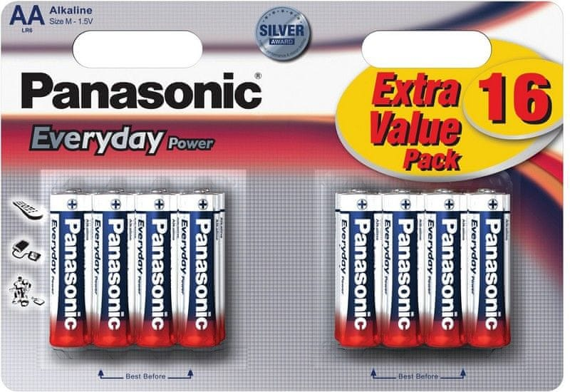 Panasonic AA 16ks Everyday Power (LR6EPS/16BW)