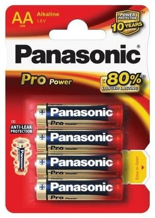Panasonic baterija Pro Power Gold LR6PPG/4BP, 4 kosi