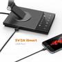 3 - TaoTronics namizna svetilka Touch Control LED DL16, siva/črna - odprta embalaža