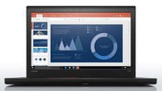 Lenovo prenosni računalnik ThinkPad T560 i5/16/256/GF940MX/15.6IPS/Win10Pro (20FHS0HU00)