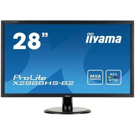 iiyama LCD LED monitor ProLite X2888HS-B2