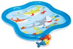 Intex otroški plitvi bazen z ribami