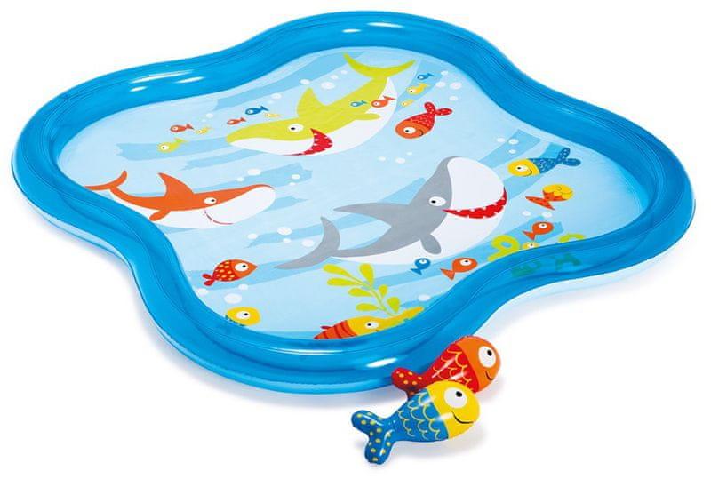 Intex Dětský bazének mělký 140 x 140 x 11 cm