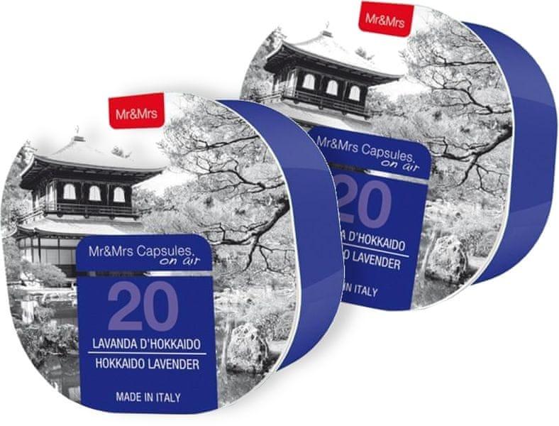 Mr&Mrs Fragrance On Air kapsle 20 Hokkaido Lavender