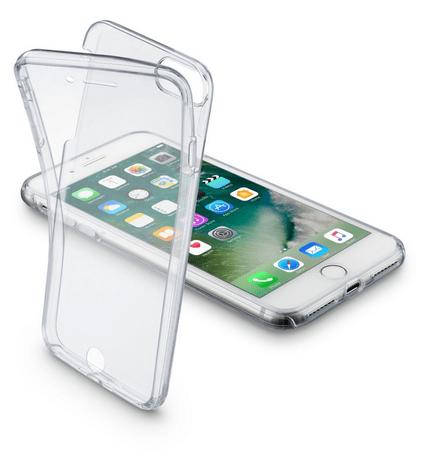 CellularLine oboustranné ultratenké pouzdro CLEAR TOUCH pro iPhone 7, čiré